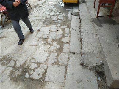 潢川南城被遗忘的角落,大巷街和大南头至今未翻修路面...
