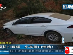 寻乌一司机累到撞山,因连续奔波十几个小时,酿成这事故!【附视频】