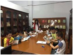 官坝社区快乐读书分享会