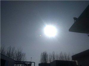 阳光暖暖的一天