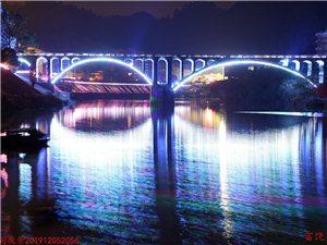 夜景璀璨百福司.桥