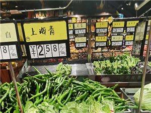 信丰这里的菜好便宜呀,可惜我不爱吃!