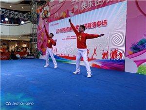 万达广场柔力球表演拍摄花絮。
