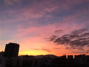 ����,珠海的天空美�O了