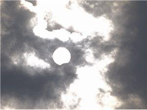 今天你看日食了吗