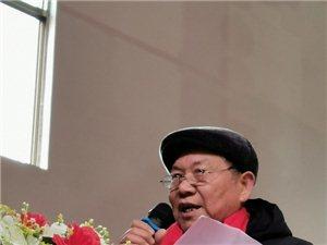 鄱阳县湖城红歌会田畈街镇分会今天正式接受授牌