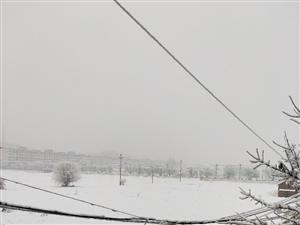 今晨大雪,大家注意行�安全!