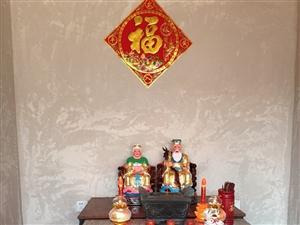 揭西县革命老区秤钩潭村:慈悲娘娘:�x圣仙娘:伯公伯婆龙登宝殿