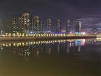 生活随拍:潢川自从加上了霓虹灯,整座小城都美了!