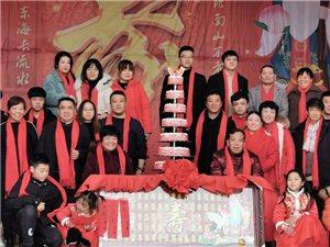 鄱阳县红歌会经过近十年的努力,己建设成一个非常成熟的团队,今天在乡村为七十老人寿诞助力演出