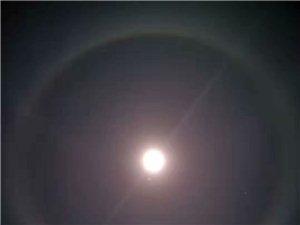今晚月亮有异象