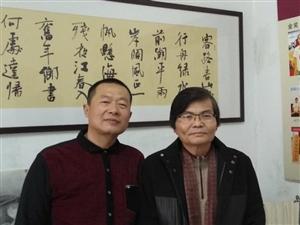 著名书法家郦一平老师为河南省潢川县硬笔书法家刘书鸿题字