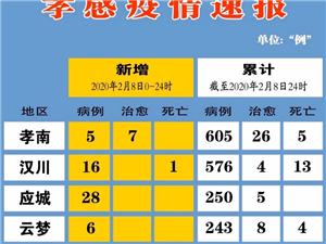 孝感疫情速�螅�2月8日)大悟新增29例