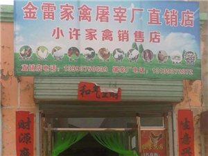 金塔县金雷家禽屠宰厂正常营业了