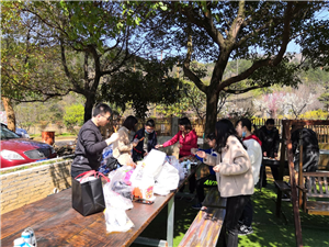 云梦谷乡村体验园:烧烤、大锅灶、踏青、钓鱼