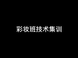 LINGLI玲丽教育彩妆技术集训课堂花絮