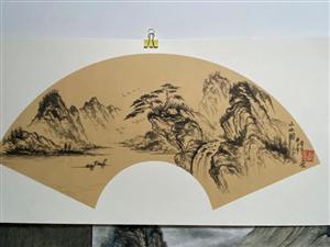 山水写意画!有喜欢的嘛?