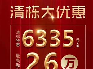 【桃源国际】特价工程现房