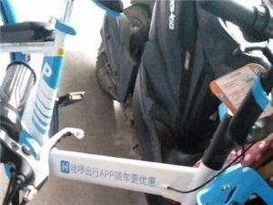 潢川共享单车被上锁共享变私用?