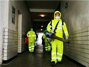 邻水县蓝天应急救援队为全面复课做消杀工作