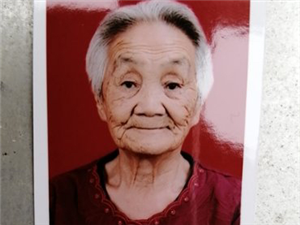 潢川81岁老奶奶坐公交车往白店方向走失,监控拍到出现在铁路桥附近