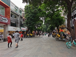 昔日繁�A的北京路