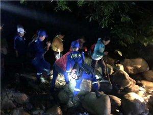 18名驴友在牯牛降景区迷失方向,祁门蓝天救援队连夜搜救