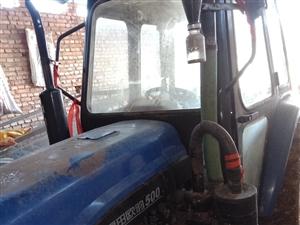 雷沃500帶一個三壟旋耕機