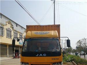 廂式貨車,6.8米6條鋼絲胎9成新底價出售