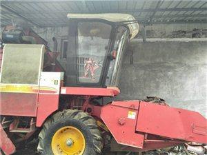 雷沃谷神玉米收割机