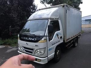 09年福田3米3箱貨,加裝保溫,車況好,手續全