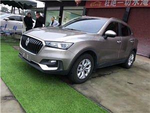 宝沃bx5 2019年5月上牌,准新车