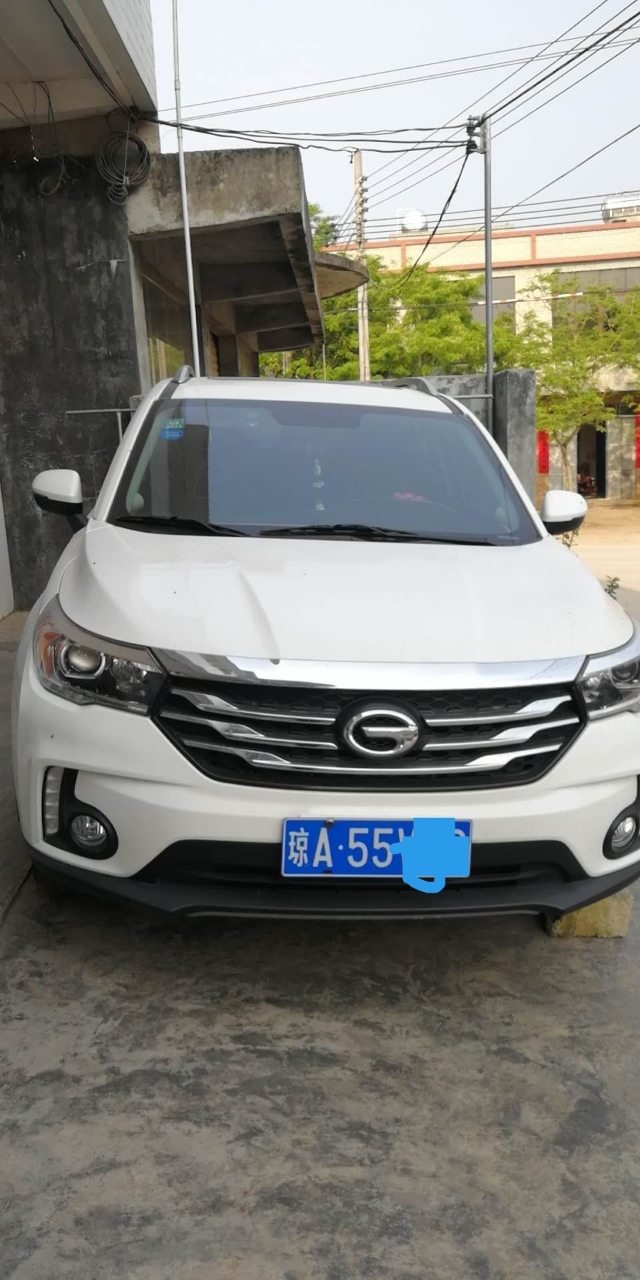 精品一手2017款自动天窗豪华版广汽传祺GS4