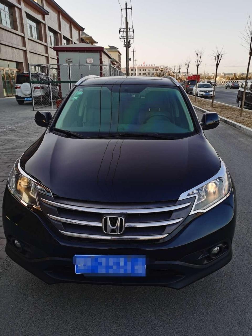2015款四驱本田CRV