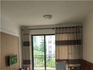 出租文化广场旁90平精装2房全实木家具拎了包入住