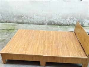 凉席型双人床低价转让