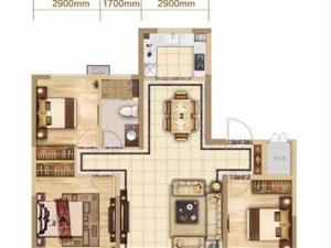 一手手续,中南雅苑127平8楼带车位,可贷款85万元
