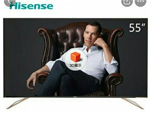 55英寸全面屏3 64G内存,转让一台名牌电视!转让一台名牌电视,由于客厅小了,想换一台小得电视,亏...
