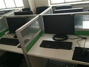出售二手��X14,套350每套,AMD�p核,4G�却�,160硬�P。19�@示器。�k公相��好用(除了��X...