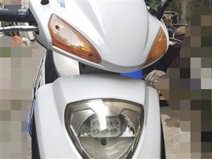 自用125踏板摩托車,機油正常保養,可賣可換電車,微信同號
