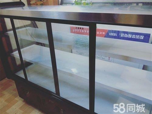全新小菜柜出售,自己開店買的,沒用上,一次也沒用,現出售!全銅管!非誠勿擾!