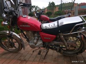 名牌轻骑太子摩托车,无手续…便宜谁要……