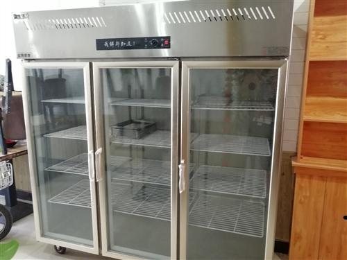 麻辣烫店物品低价处理了!!!三门冷藏柜九成新2800元,就用了两个月。红色大的消毒柜100元,海尔单...