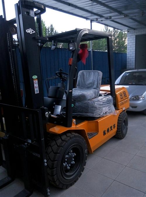 全新杭州3噸叉車升高3.5米2019年五月份的車