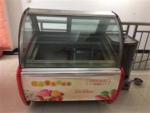 冰淇淋冷柜和烤肉�C