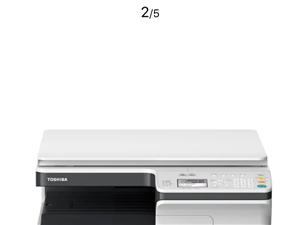东芝打印复印打描一体机刚开封用了没几天