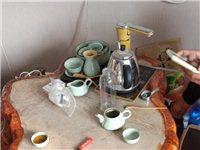 树根茶桌  配四个树根凳子