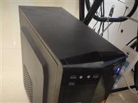 转让个人用9成新i3台式机电脑一套,含24寸显示屏,详细看配置!