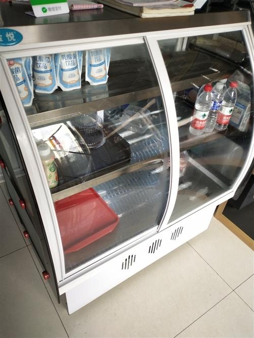 出售一台直冷点菜柜,用三月不到