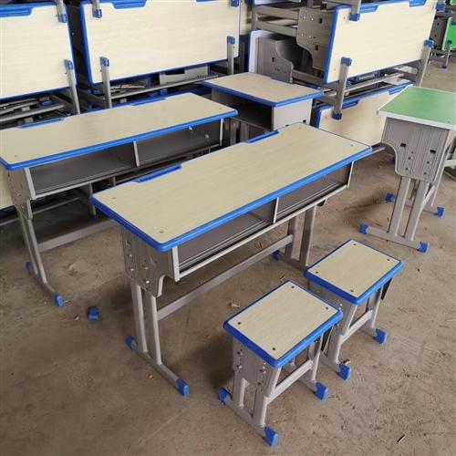 学生课桌椅/实木高低床/上下铺黑板学校餐桌